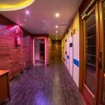 sauna area